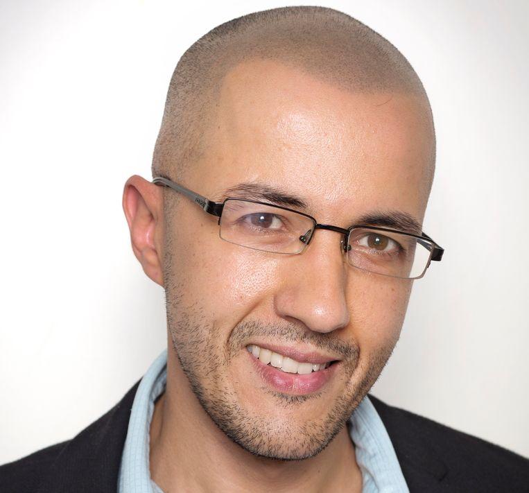 Kamel Essabane: 'Tevreden zijn met je eigen ontwikkeling, kan je zelfgenoegzaam en zelfvoldaan maken'. Beeld Jorgen Caris