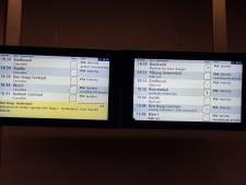Treinverkeer tussen Tilburg en Eindhoven rijdt weer na aanrijding met persoon