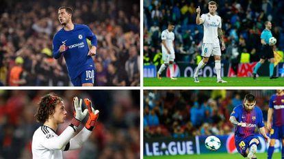 De doorbroken droogte van Hazard en de passingmeester in Kroos: de strafste stats van de derde speeldag in de Champions League