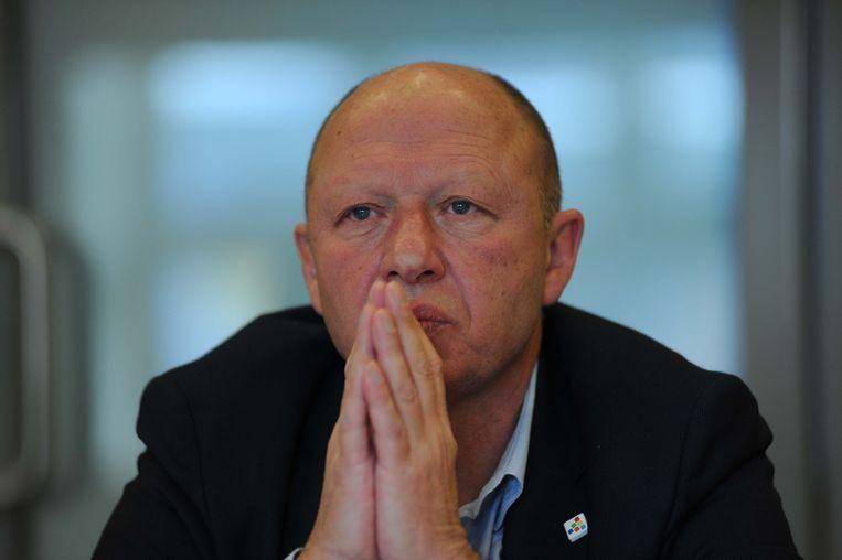 Burgemeester Hans Bonte.