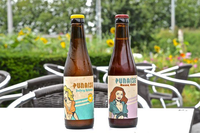 Punaise Juicy Blond en Rosse Tinke zijn twee nieuwe bieren die Luc Savels met brouwerij De Meester maakte.