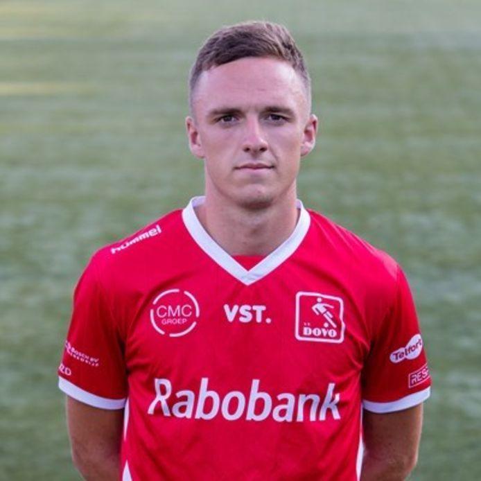 DOVO-voetballer Yannick Zeeman.