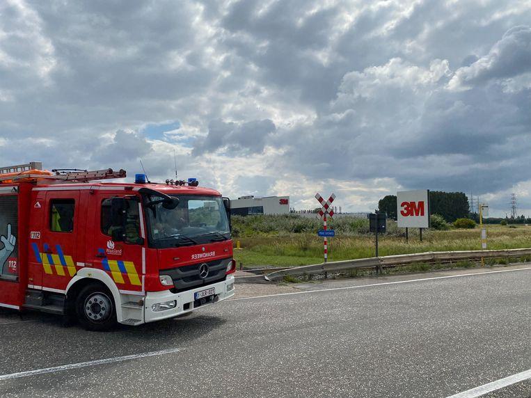De fabriek van 3M in Zwijndrecht. Beeld Marc De Roeck