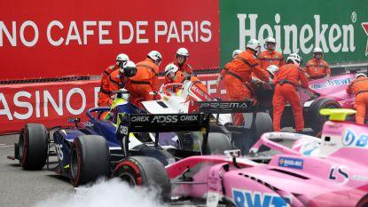 Zelden meegemaakt in Monaco: Mick Schumacher zorgt ervoor dat alle auto's moeten stoppen