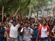 Les ouvriers du textile en colère au Bangladesh