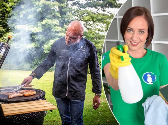 """""""Gebruik een aardappel of citroen"""": twee experts leggen uit hoe je je barbecue weer schoonmaakt na zijn winterslaap"""