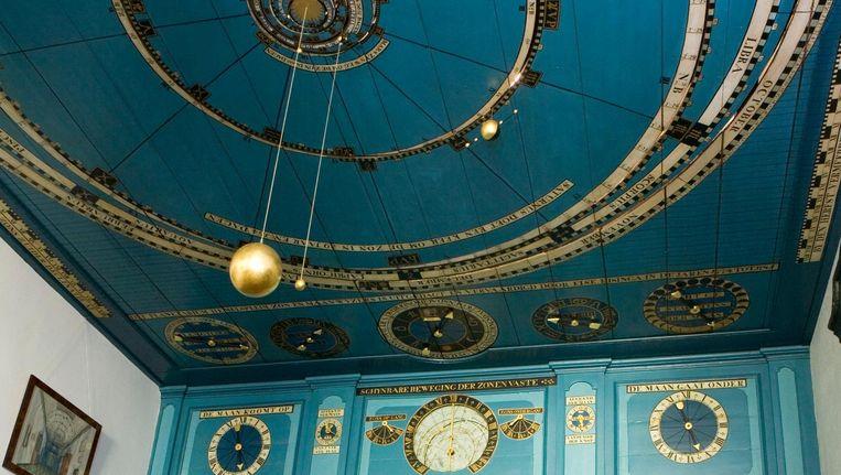 Het planetarium van Eise Eisinga te Franeker. Beeld Harry Cock / HH