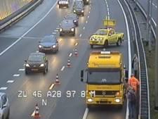 Zes auto's betrokken bij ongelukken op A28 bij afslag Ommen
