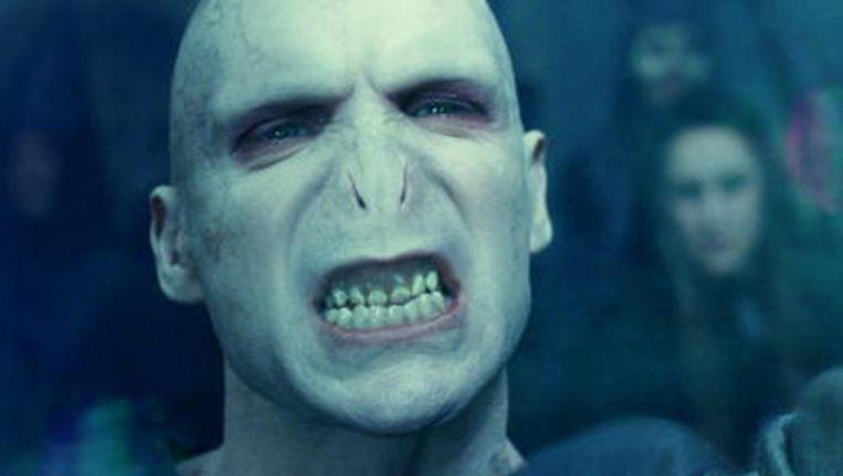 De boosaardige tovenaar Voldemort uit de Harry Potter-films. Beeld Screenshot YouTube
