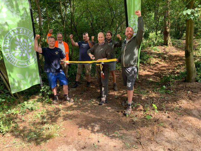 De officiële opening van het stuk bos dat Beer 4 Nature kocht in Geel-Bel