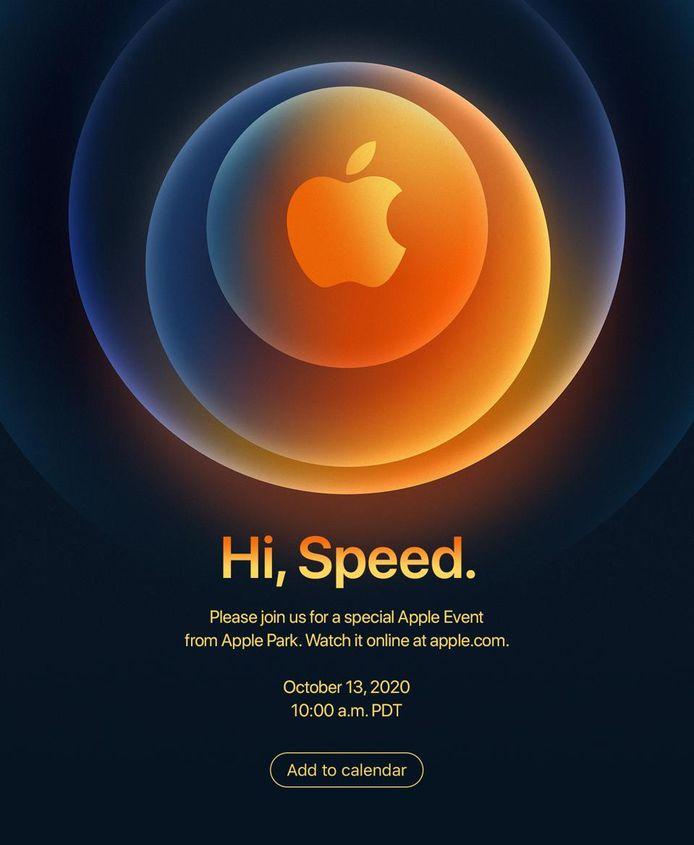 De invitatie voor het Apple-event bevat doorgaans hints over de producten die er worden aangekondigd.