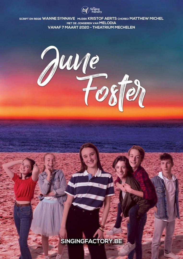 De affiche van 'June Foster'