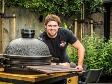 De hele zomer barbecueën: voor menig man een droom, voor Niels (26) uit Tubbergen werkelijkheid