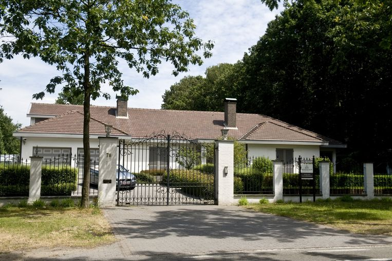 De villa van de familie Pfaff in de Guyotdreef.
