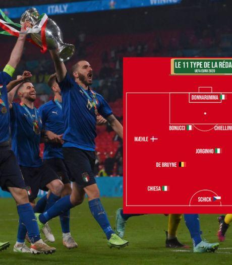 Un Belge, beaucoup d'Italiens et des révélations: voici notre équipe-type de l'Euro