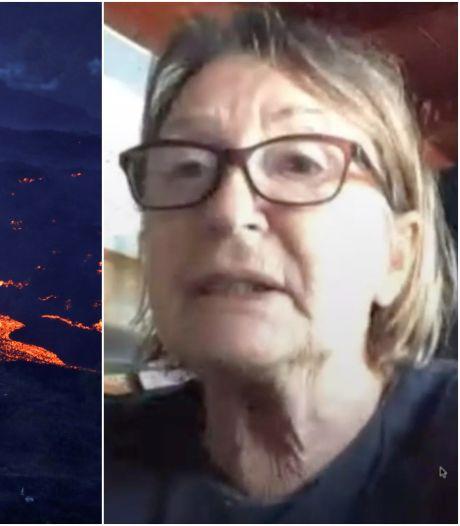 La lave continue son avancée à La Palma, cette Ostendaise de 69 ans a tout perdu