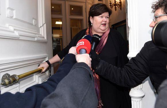 Federaal minister van Volksgezondheid Maggie De Block (Open Vld).