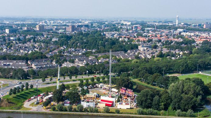De najaarskermis was afgelopen week voor het eerst op de parkeerplaats bij voetbalclub ARC in Alphen.