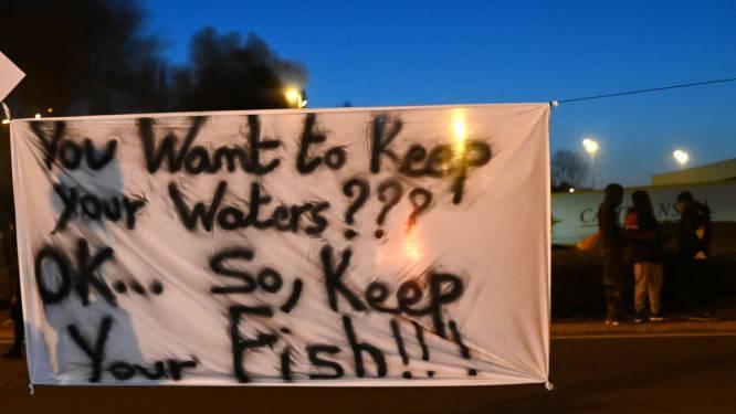 Franse vissers blokkeren vistransporten uit Verenigd Koninkrijk