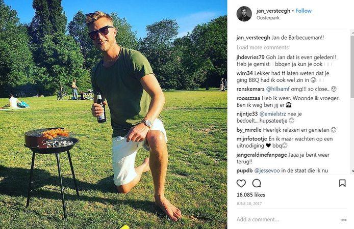 Jan Versteegh op Instagram