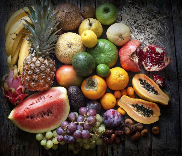 Met het paleodieet eet je veel vezels en andere essentiële voedingsstoffen door de grotere hoeveelheid groente, fruit, vis en noten. Beeld thinkstock