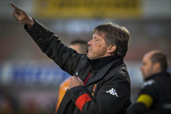 Frank Vercauteren hield KV Mechelen in eerste klasse