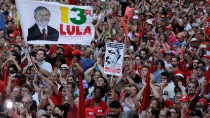 Grote betoging in Brazilië om deelname van Lula aan verkiezingen te verdedigen