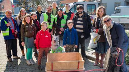 Vrijwilligers ruimen 20 vuilzakken zwerfvuil
