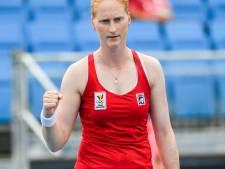 Nur Sultan: deuxième quart de finale de la saison pour Alison Van Uytvanck