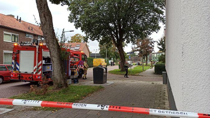 De politie zette een deel van de Ereprijslaan in Arnhem af in verband met een gaslek.