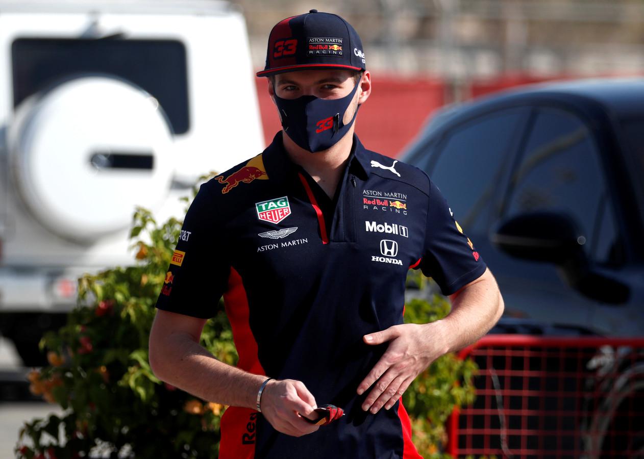 Max Verstappen vandaag in Bahrein.