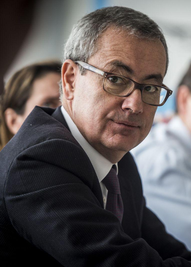 Het Solvay-management is internationaler geworden, met onder meer de Fransman Jean-Pierre Clamadieu als CEO. Beeld Belga