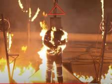 Bekende tv-stuntman (41) zwaargewond bij heftige stunt America's Got Talent