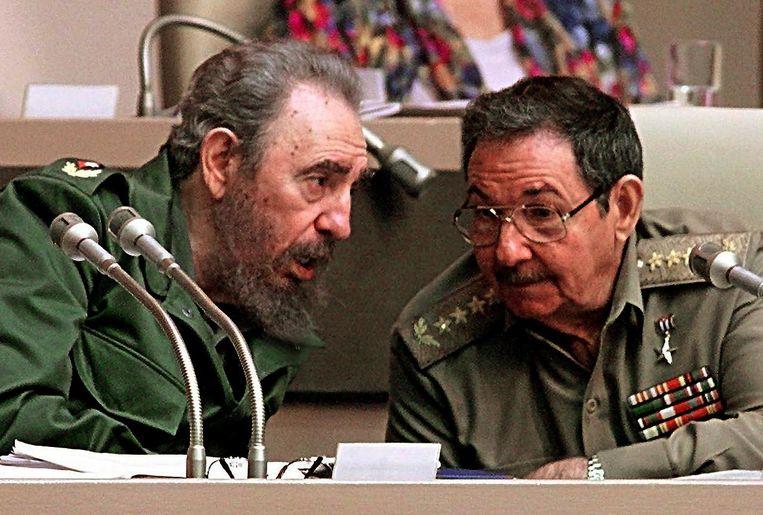 Fidel Castro, de broer van Raúl, bleef in totaal 47 jaar aan de macht. Beeld AFP