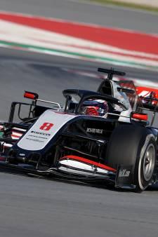 Räikkönen rijdt snelste tijd en zorgt voor rode vlag op door 'DAS' gedomineerde testdag
