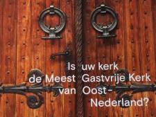 Wat is de meest gastvrije kerk van Twente en de Achterhoek?