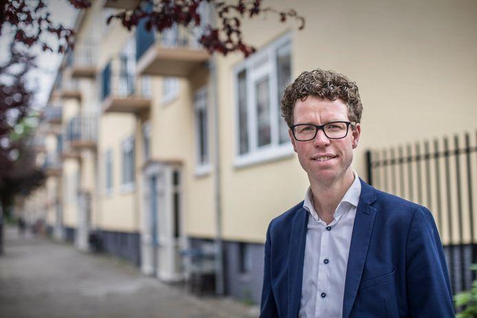 Wethouder Martijn Balster in Den Haag Zuidwest.