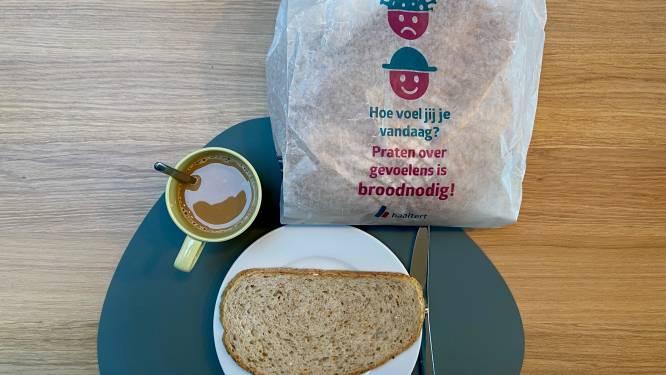 Broodzakken zetten mentale gezondheid in de kijker bij elke Haaltertse bakker