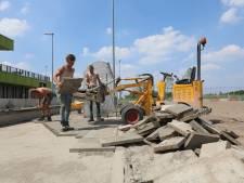 Herstelwerkzaamheden op sportpark Willem-Alexander; na de zomer is park weer veilig