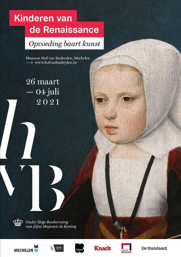 'Kinderen van de Renaissance' loopt van 26 maart tot 4 juli in Museum Hof van Busleyden in Mechelen.