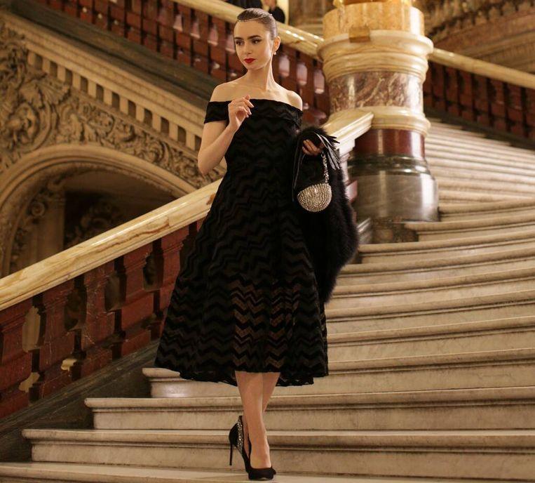 Emily als Audrey bij de Opéra. Beeld Netflix