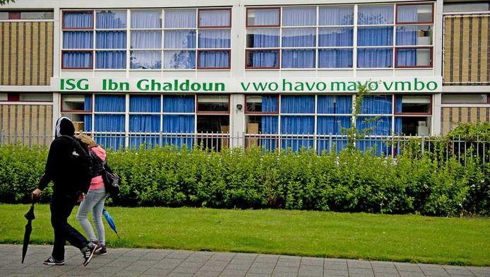 De Ibn Ghaldoun school in Rotterdam