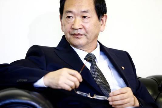 Han Tae-song, de Noord-Koreaanse gezant bij de VN