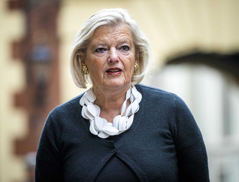 Demissionair staatssecretaris Ankie Broekers-Knol (VVD) van Justitie en Veiligheid. Beeld ANP