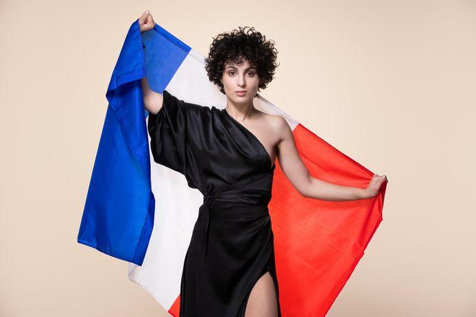 Barbara Pravi is namens Frankrijk de deelneemster aan het songfestival