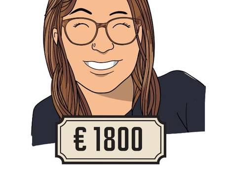 'M'n boekhouder zegt dat ik minstens 25 euro moet vragen, maar dat vind ik moeilijk'