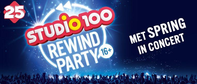 Studio 100 Rewind Party Beeld Studio 100
