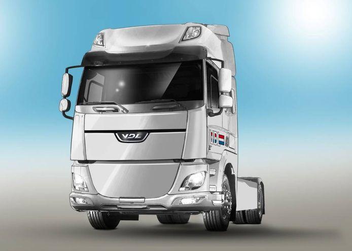 Dit wordt 'm: de elektrische truck van VDL.