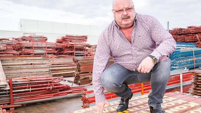 """Stellingbouwer Michel van den Brande: """"Mijn ploeg was toevallig op een andere werf"""""""