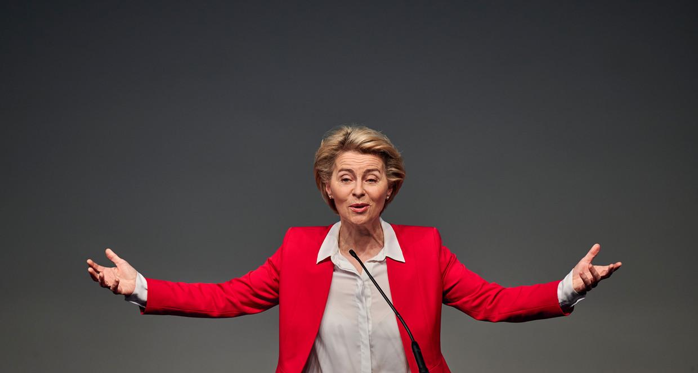 Verdergaande coördinatie van het volksgezondheidsbeleid is onvermijdelijk, dat zal Von der Leyen in haar jaarlijkse 'troonrede' zeggen.  Beeld Corbis via Getty Images